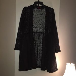 NEW black sequin Pretty Young Thing Zulilly XL